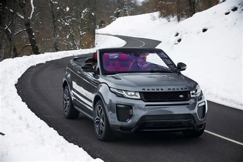 evoque land rover convertible 2017 land rover range rover evoque convertible first drive