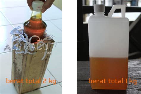 Packing Kayu Jne 2kg 18032 harga madu asli murni alami