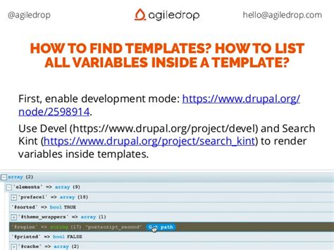 drupal theme variables drupal 8 most common beginner mistakes