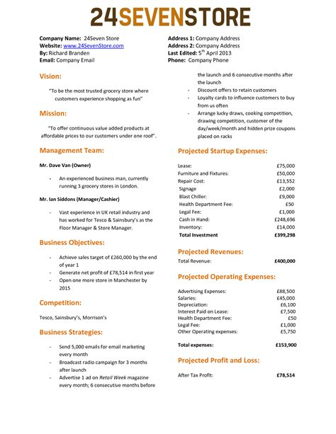 beautiful one page proposal template best templates