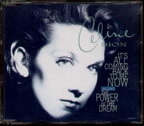 Coming Back To Me dion it s all coming back to me now cd 4 tracks inc