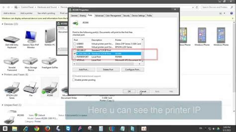 How Do I Search For On By Name How To Find Network Printer Ip Address In Windows 10 8 1