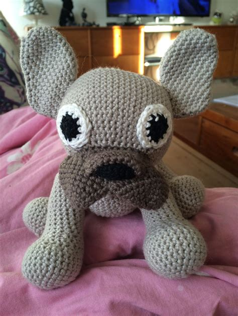 pattern crochet francais amigurumi dog french bulldog pdf crochet pattern animal