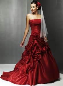 Christmas Wedding Dress With Red Trim » Ideas Home Design