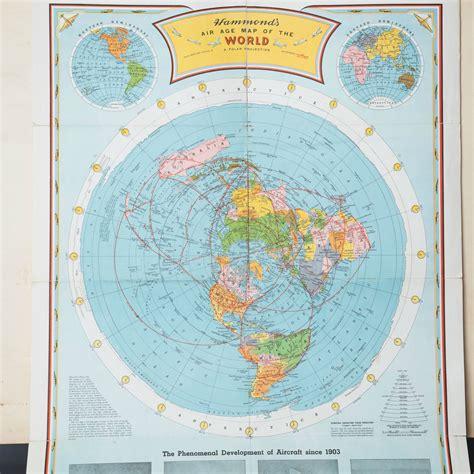 flat world map flat earth maps charts zetetics free flat earth and earth