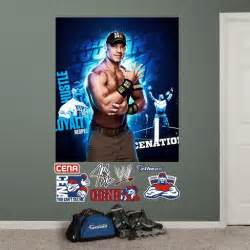 wwe wall mural wwe john cena montage mural wall decal wall decal at
