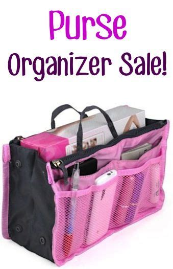 Get Organised With The Expandable Purse Organiser by Organizers Purses And Frugal On