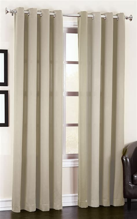 madison grommet curtain room darkening brick