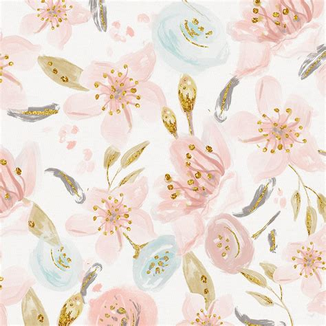 pink hawaiian floral fabric by the yard pink fabric