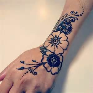 flower hand tattoo geometric flower hand tattoo black and white cute