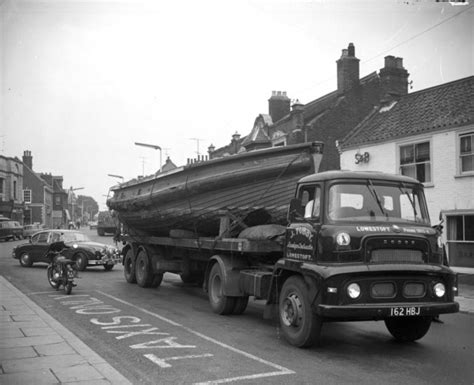 boat transport lowestoft a dodge truck belonging to haulage contractor j tubby of