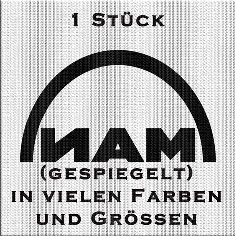 Man Schriftzug Aufkleber by Man Schriftzug Aufkleber 1 St 252 Ck Variante 2