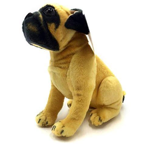 large stuffed pug viahart 18 inch large stuffed animal plush puck the pug new ebay