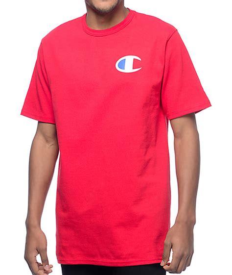 C T Shirt chion heritage patriotic c t shirt zumiez
