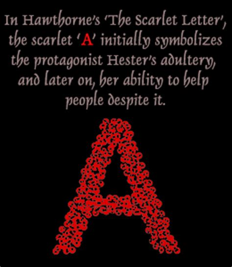 scarlet letter charity quotes hawthorne s the scarlet letter symbolism and character