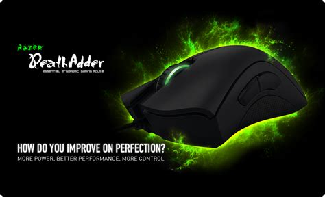 Mouse Macro Razer Termurah razer deathadder gaming mouse essential ergonomic gaming mouse