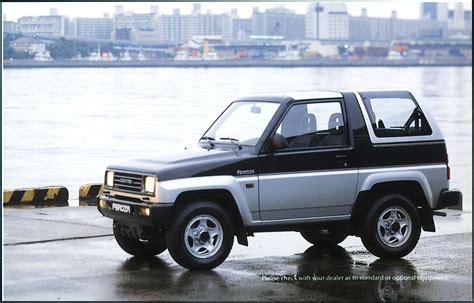 daihatsu feroza daihatsu feroza se pictures photos information of
