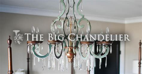 about vintage and antique lighting from the big chandelier