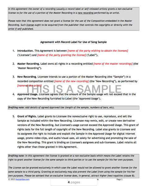 exclusive rights contract template exclusive rights contract template mfawriting683 web fc2