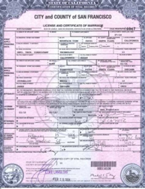 Vital Records Marriage Certificate Apostille Vital Records