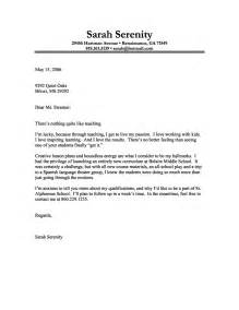 Best Cover Letter Examples For Teachers Writing Resume