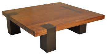 quadratische tische square tamburil coffee table walnut legs contemporary