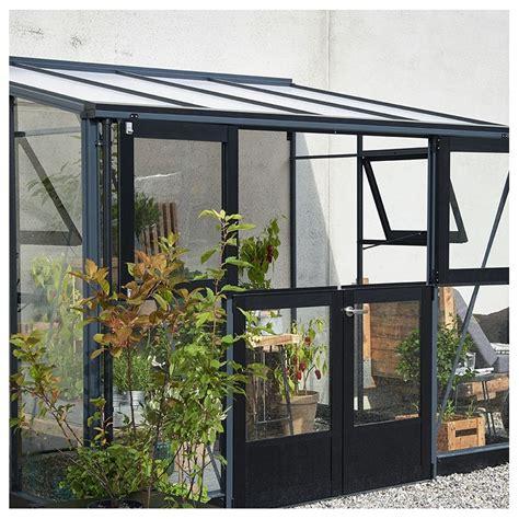serre verande serre veranda aluminium anthracite et verre tremp 233 6 6m 178