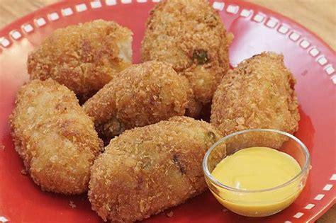 kroket kentang makanan ringan  cukup bikin kenyang