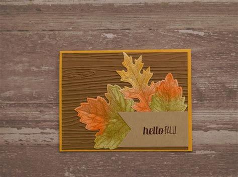 17 best ideas about handmade fall cards on pinterest