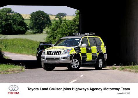 Toyota Patrol Vehicles Join Highways Agency Motorway