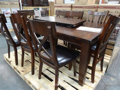 dining set with bench costco dining room outstanding dining room sets costco dining