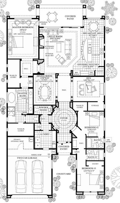 Windgate Ranch Scottsdale Cassia Collection The Floor Plans Arizona