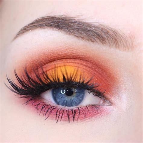 Eyeshadow Orange best 25 halo eye makeup ideas on eyeshadow looks gold eyeshadow and shimmer