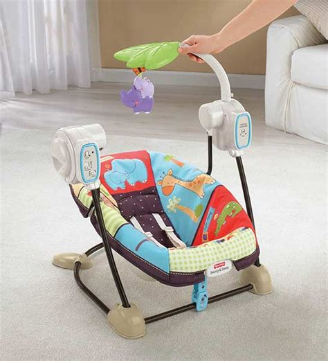 fisher price zoo swing com fisher price space saver swing and seat luv