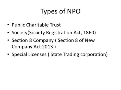 section 40 companies act ppt for taxation non profit organisation