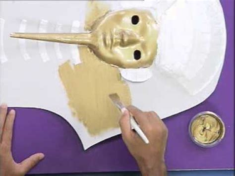 How To Make A Mask Out Of A Paper Plate - mask