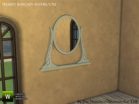 cheap shabby chic mirrors thenumberswoman s shabby bargain shabby chic bathroom mirror