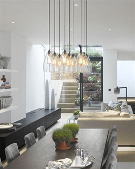 pendant lighting dining room table glass pendant lights wrapping interior designs