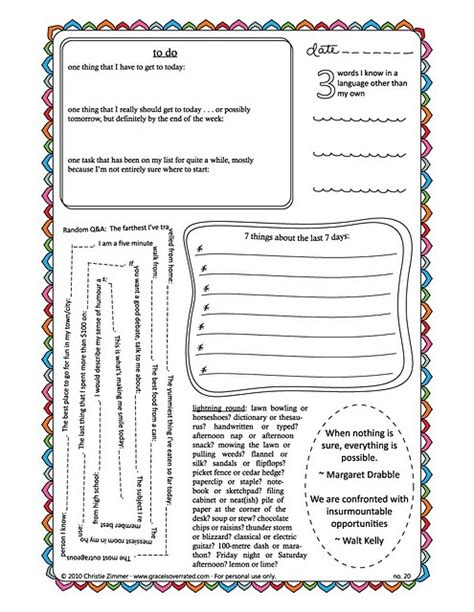 printable activity journal the 151 best images about therapy worksheets on pinterest