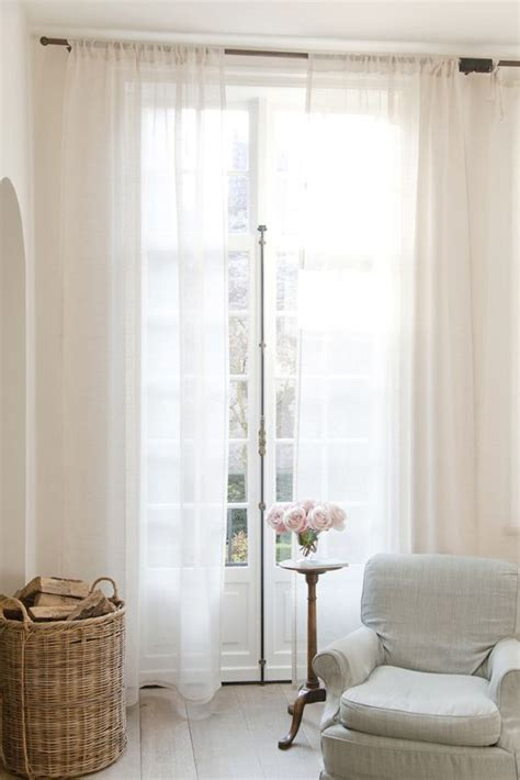90 sheer curtains province drapery province pinterest