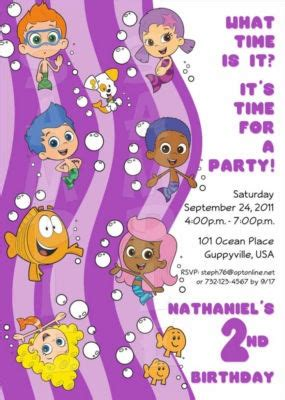 25 best ideas about bubble guppies party on pinterest 48 best images about bubble guppies birthday on pinterest