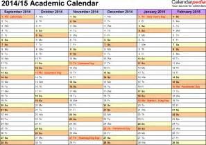 academic calendar template marshall academic calendar fall 2016 calendar