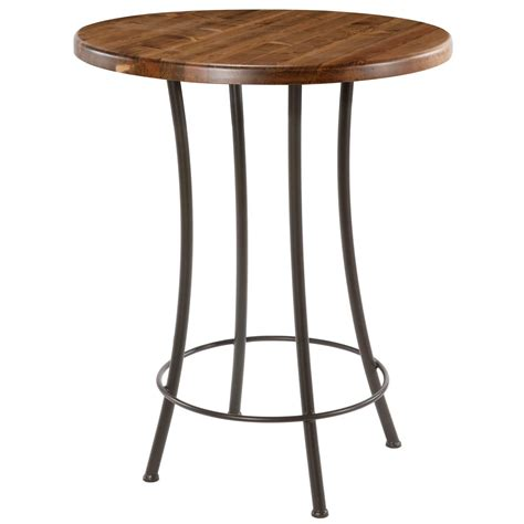 Bar Height Bistro Table with Pictured Here Is The Bistro Counter Height Table With A Clean Black Wrought Iron Base And A 30