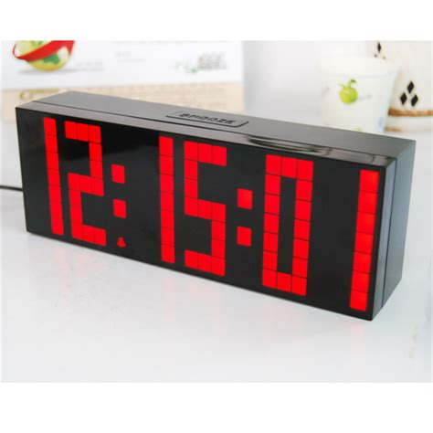 bedroom digital alarm clock digital large digit led snooze for bedroom alarm clock