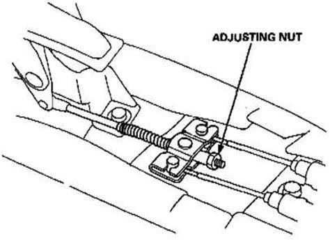 how to adjust handbrake on a 2011 jaguar xk my honda jazz handbrake will not hold on a slope but i am