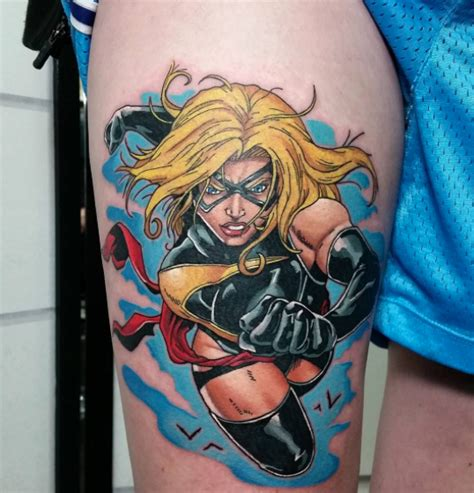 main st tattoo ms marvel done by zac kinder at in
