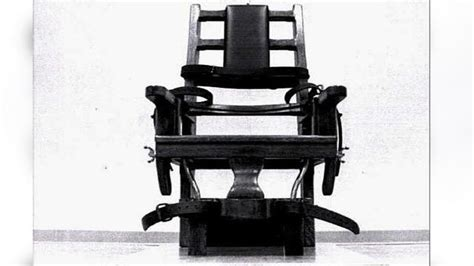 Mississippi May Become Fourth State To Rev Execution Liberals Furious When Gets The Electric Chair In A