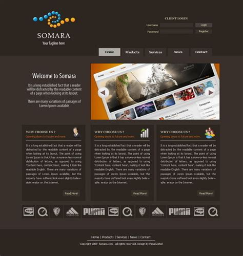 templates photoshop website 50 high quality web layout psd templates available for