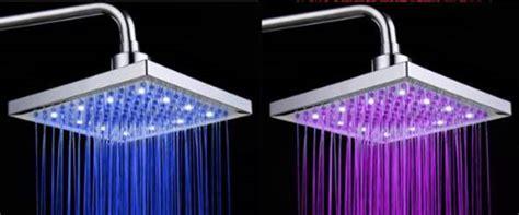 doccia con led colorati led colorati per la vostra doccia gnius tech