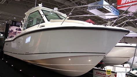 boston boat show 2016 boston whaler 285 conquest fishing boat walkaround